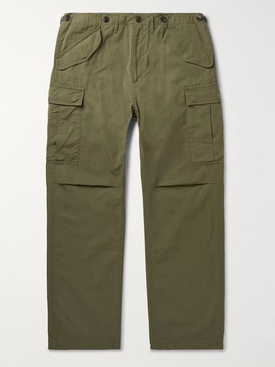 visvim Jumbo Cotton-Blend Twill Cargo Trousers
