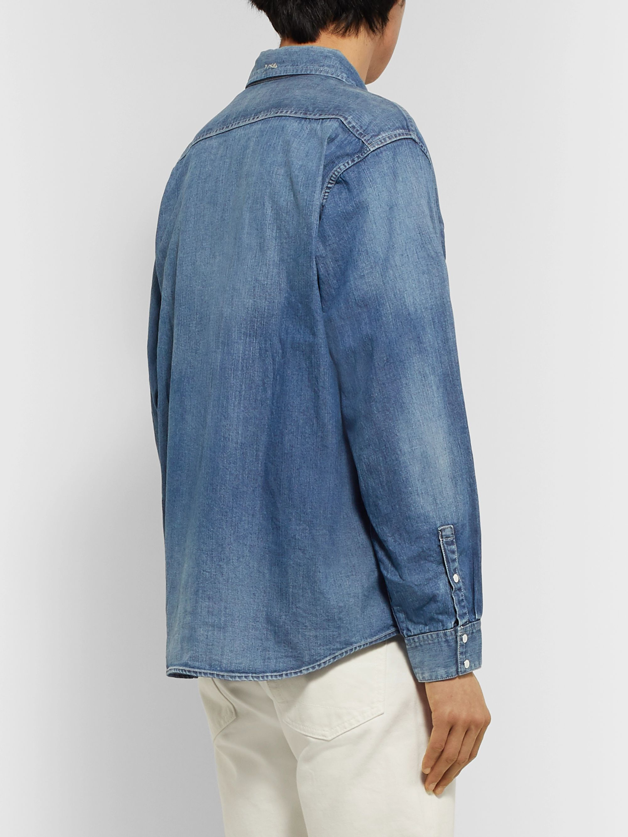 visvim Handyman Denim Shirt