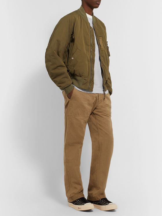visvim Trade Wind Cotton and Linen-Blend Trousers