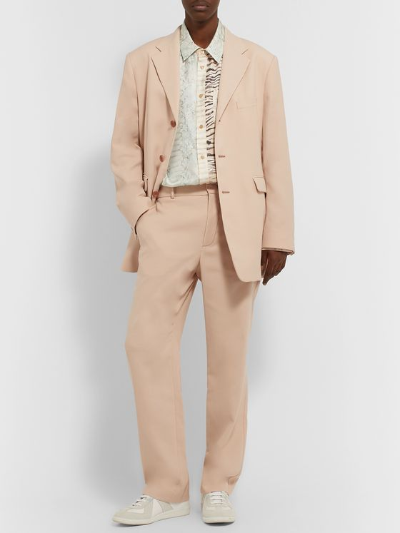 Sies Marjan Toby Cotton-Crepe Suit Trousers