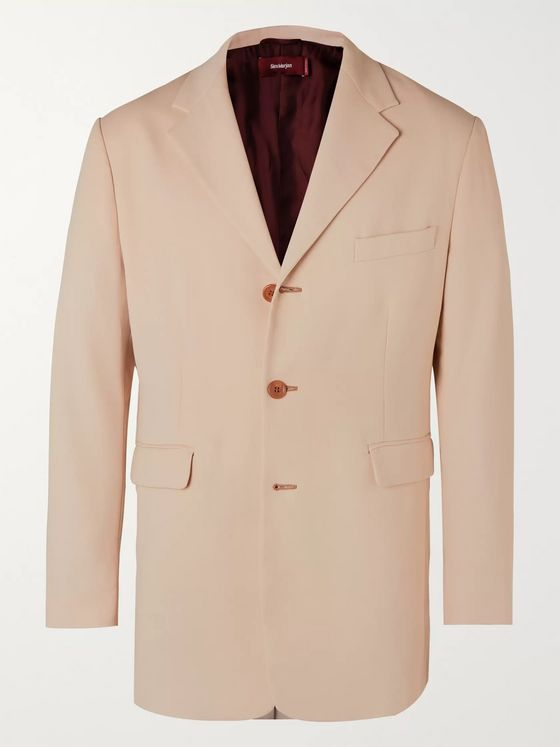 Sies Marjan Cyrus Cotton-Crepe Suit Jacket