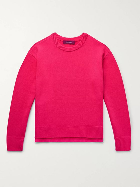 Sies Marjan Jett Wool and Cashmere-Blend Sweater