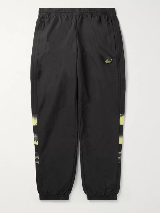 adidas Originals Tapered Printed Nylon Track Pants