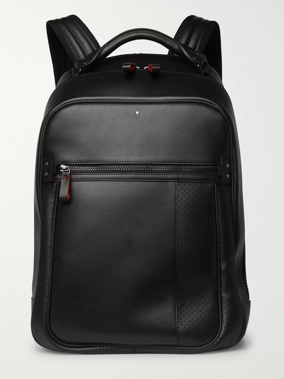 Montblanc Urban Racing Spirit Leather Backpack