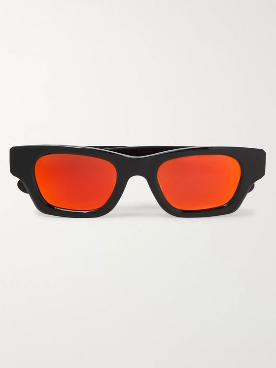 AMBUSH® Square-Frame Acetate Mirrored Sunglasses