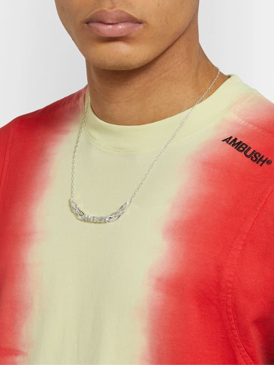 AMBUSH® Flame Sterling Silver Necklace