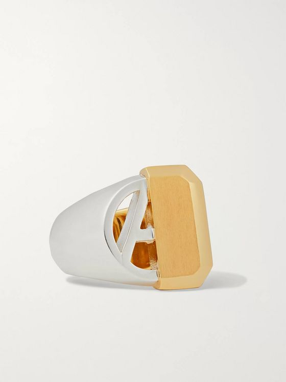 AMBUSH® Sterling Silver and Gold-Tone Ring