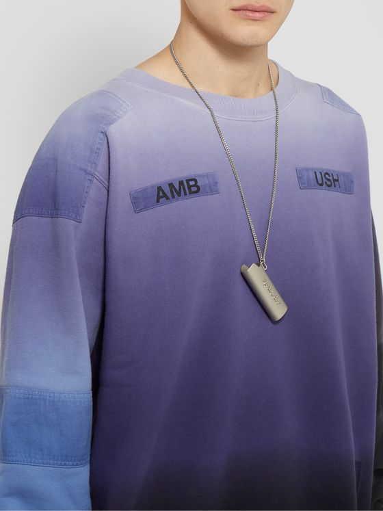 AMBUSH® Lighter Case Silver-Tone Necklace