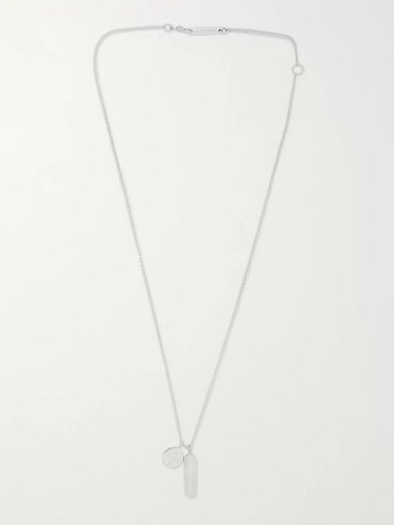 AMBUSH® Pill Sterling Silver Necklace
