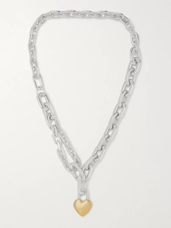 AMBUSH® Sterling Silver and Gold-Tone Necklace