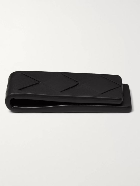 Bottega Veneta Intrecciato Leather Money Clip