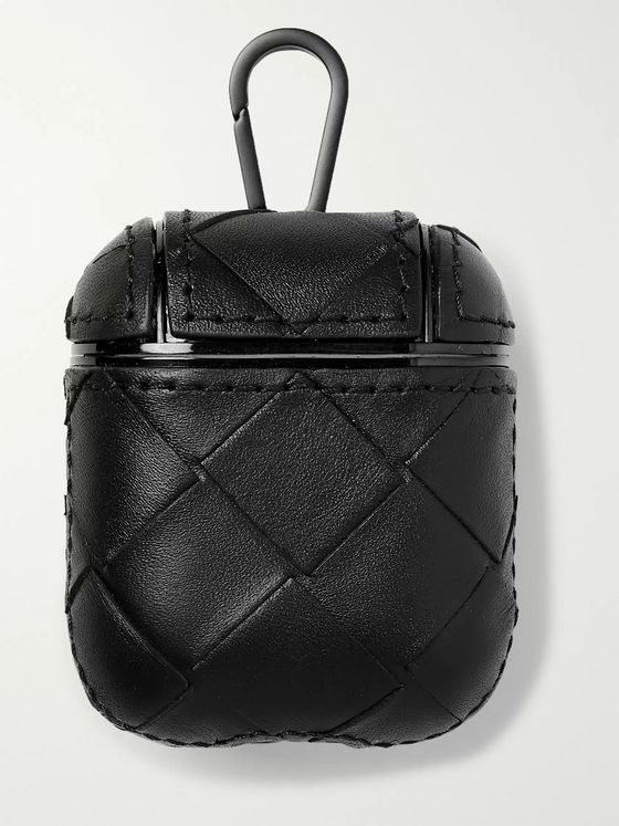 BOTTEGA VENETA Intrecciato Leather AirPods Case