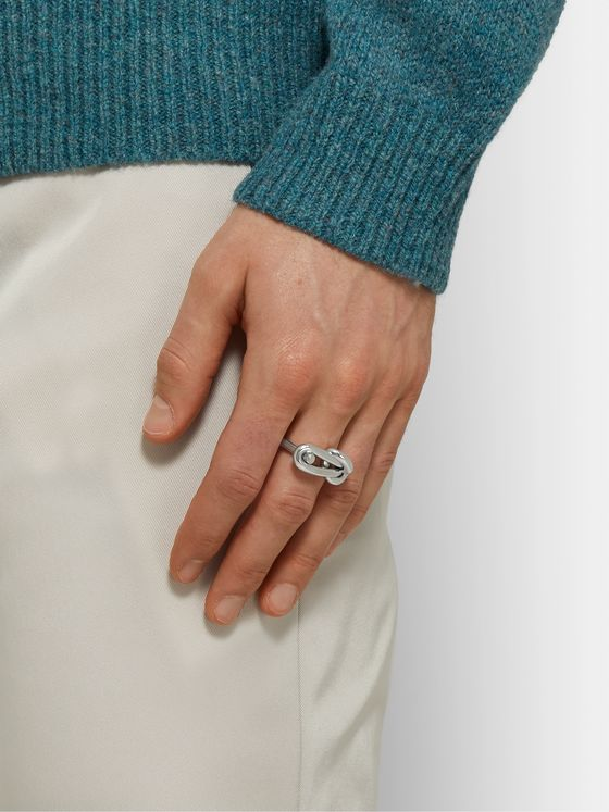 BOTTEGA VENETA Sterling Silver Ring