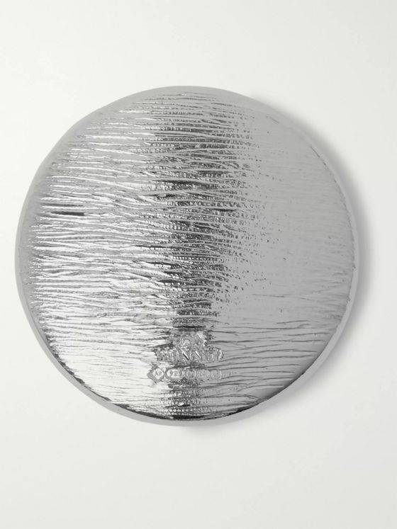 Bunney Textured Sterling Silver Badge