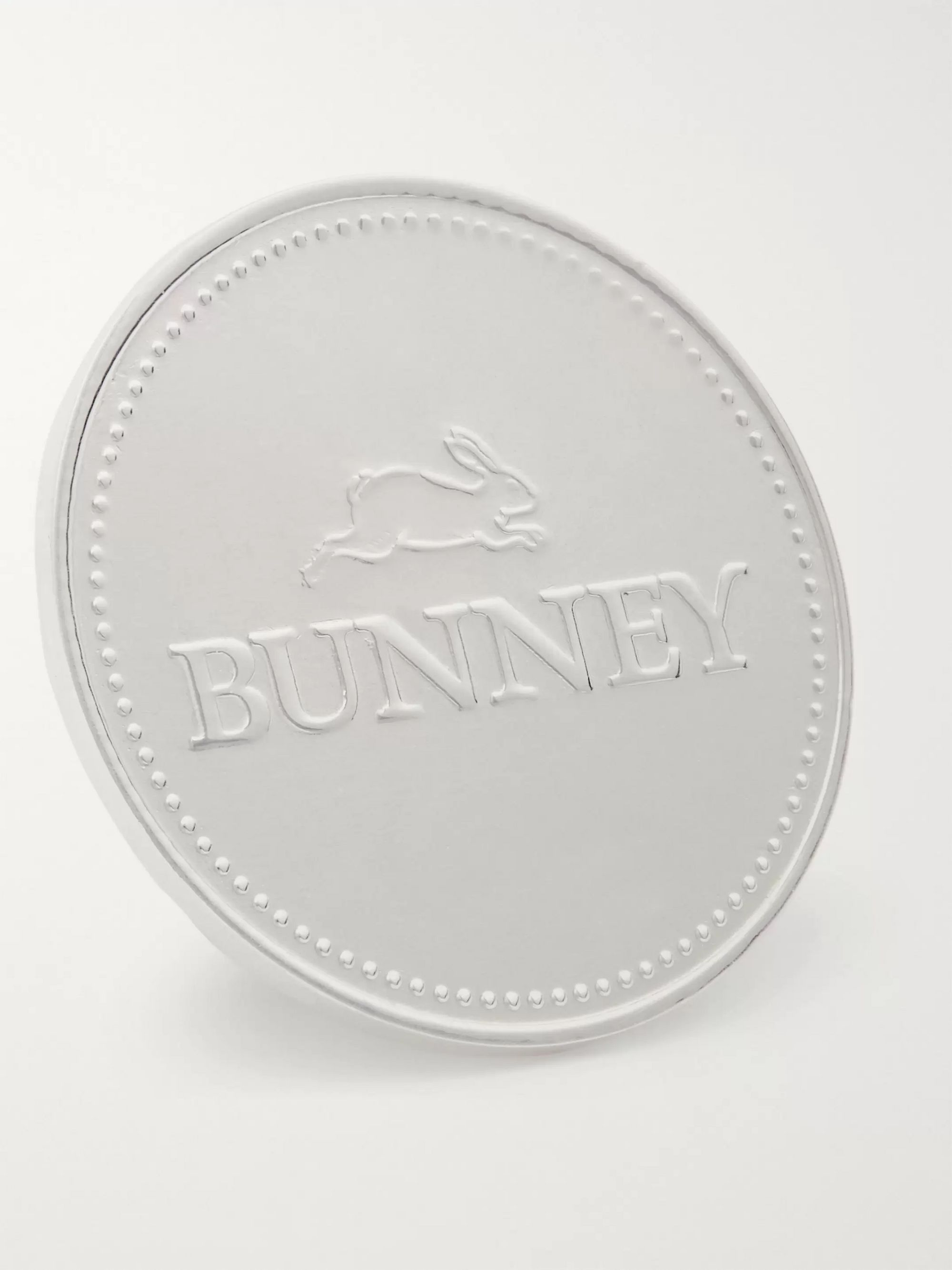 Bunney Logo-Detailed Sterling Silver Pin