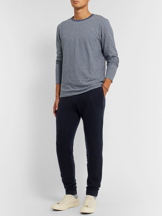 120% Slim-Fit Tapered Cashmere-Blend Sweatpants