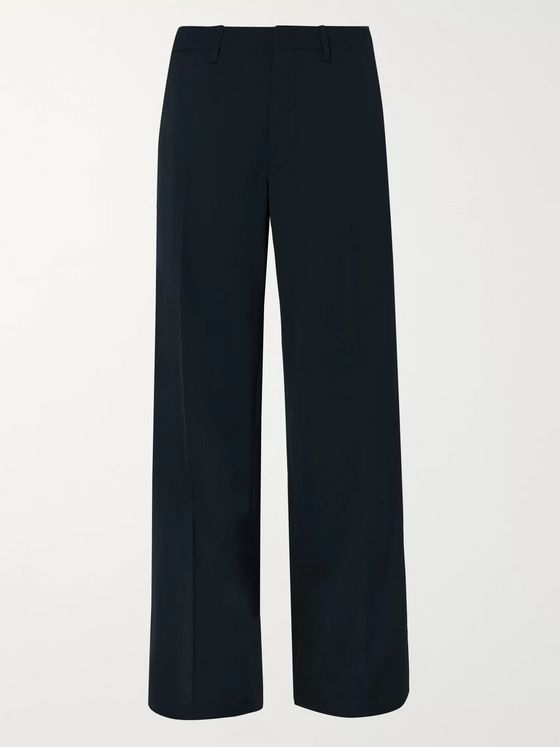 Lemaire Wide-Leg Twill Trousers