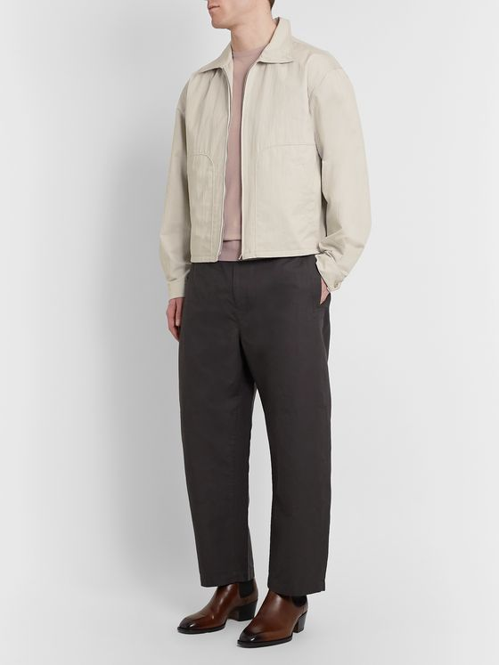 Lemaire Cotton-Blend Blouson Jacket