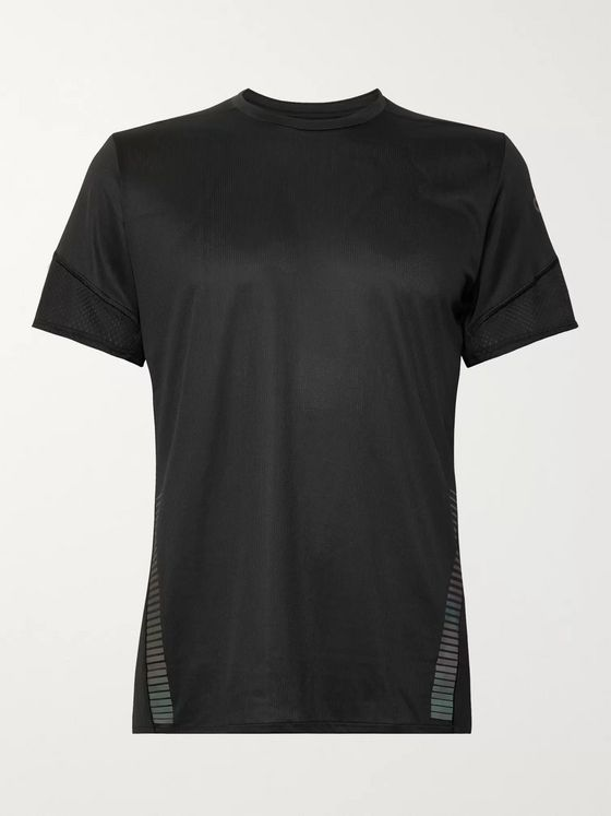 Adidas Sport + Parley 25/7 Rise Up N Run Mesh-Panelled Climacool T-Shirt