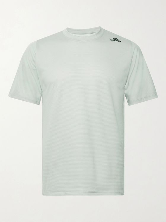 Adidas Sport FreeLift Tech Striped Climalite T-Shirt