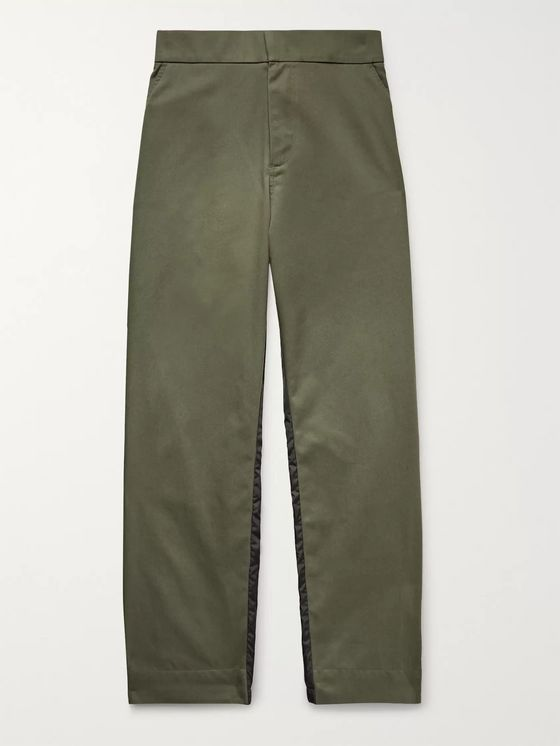 Moncler Genius 5 Moncler Craig Green Tapered Gabardine and Nylon Trousers