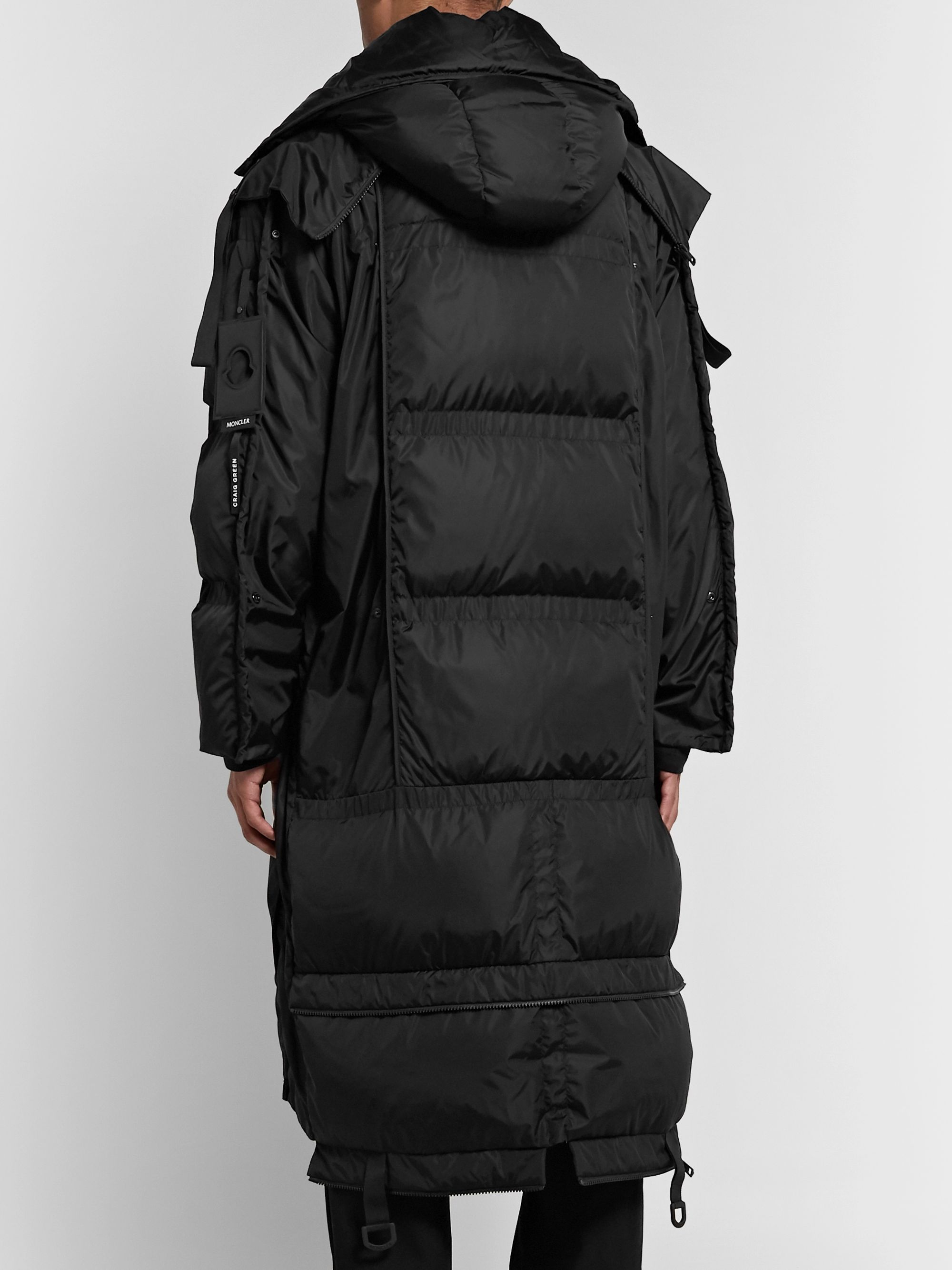 Moncler Genius 5 Moncler Craig Green Sullivan Quilted Shell Hooded Down Parka