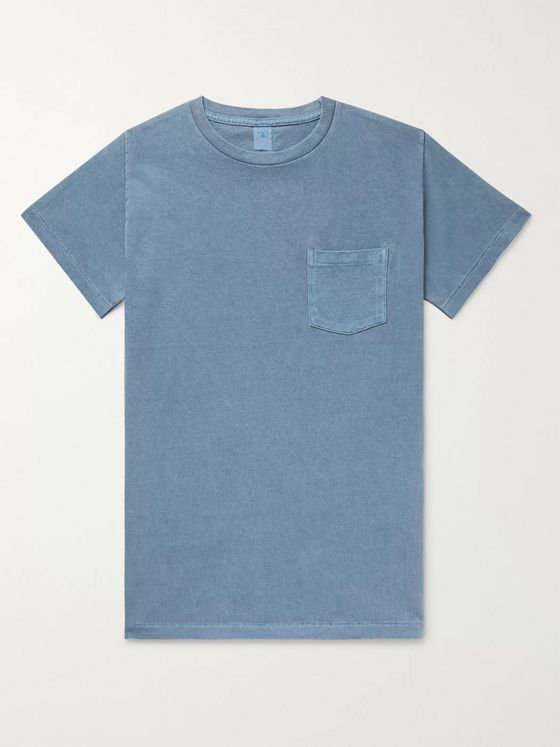 Velva Sheen Pigment-Dyed Cotton-Jersey T-Shirt