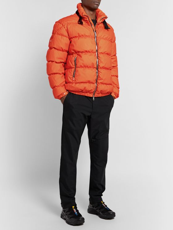 Moncler Genius 6 Moncler 1017 ALYX 9SM Quilted Coated-Cotton Down Jacket