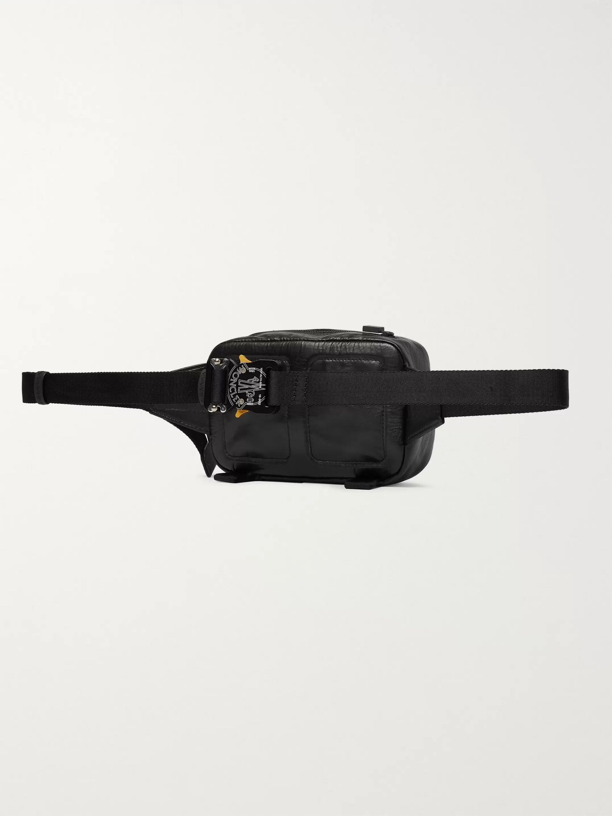 Black 6 Moncler 1017 Alyx 9sm Leather Belt Bag   Genius