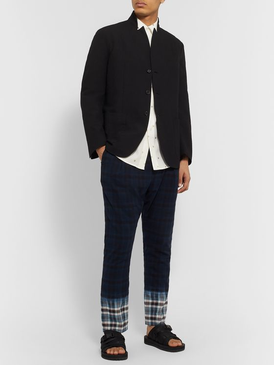 Sasquatchfabrix. Textured Wool-Blend Blazer
