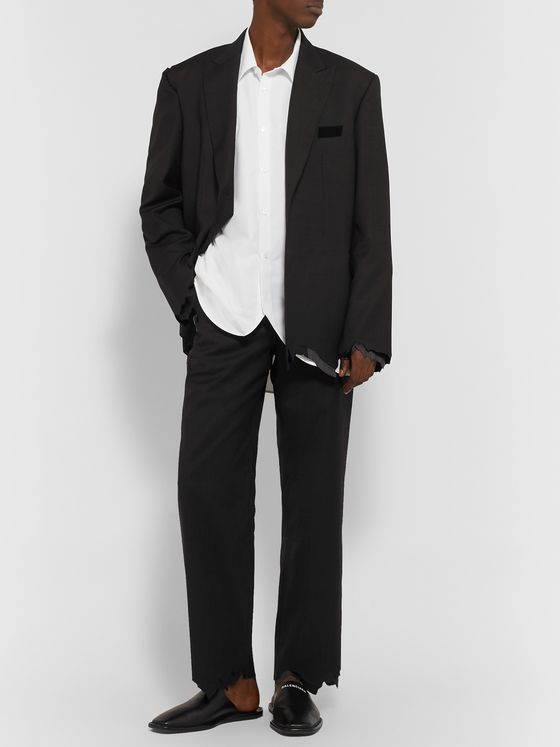 Ader Error Distressed Wool Trousers