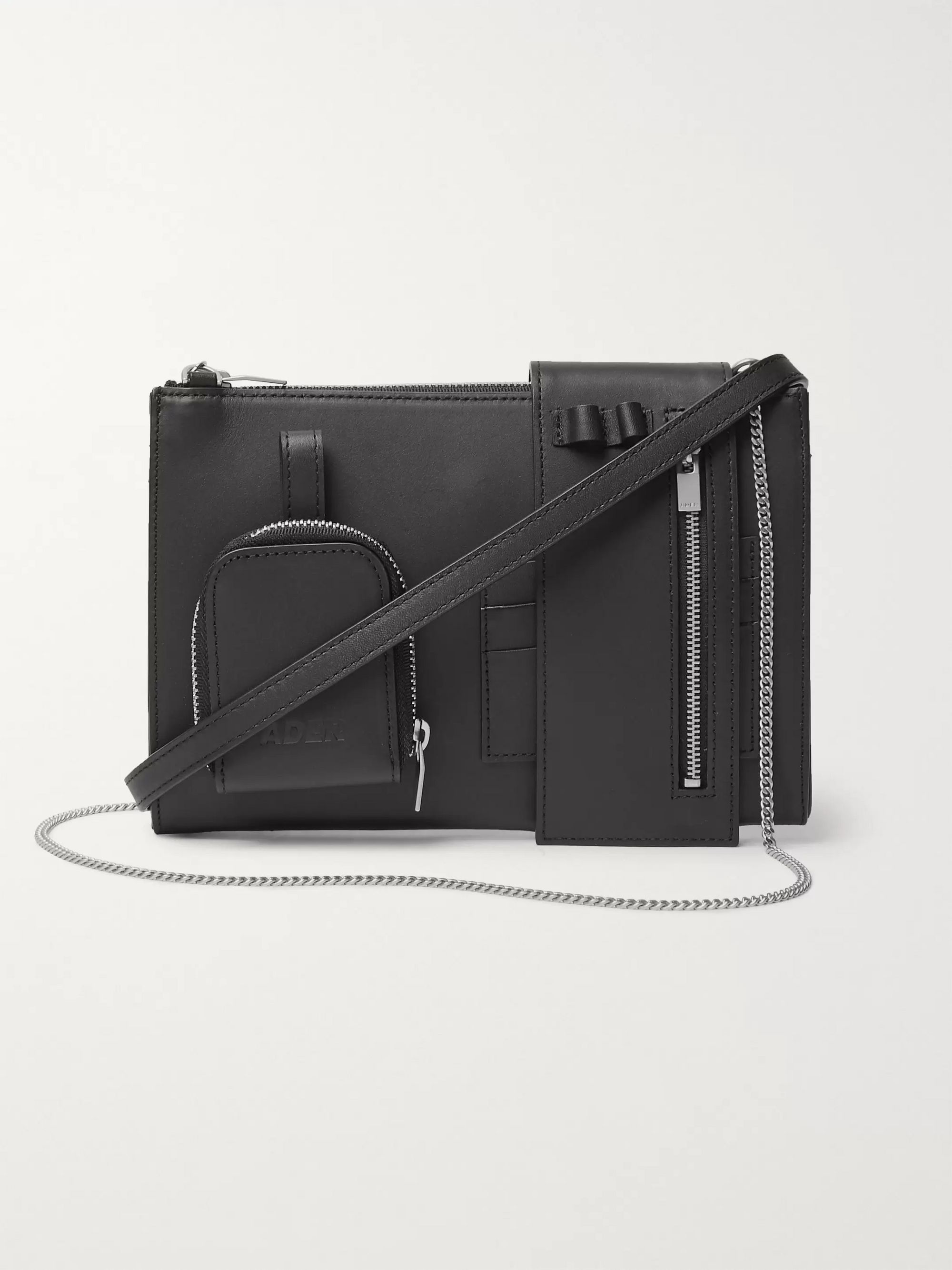 Ader Error Tetristype Leather Messenger Bag