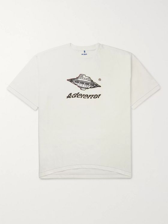 Ader Error Logo-Print Cotton-Jersey T-Shirt