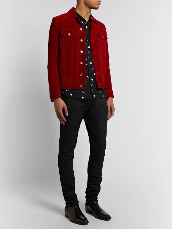 SAINT LAURENT Printed Woven Shirt