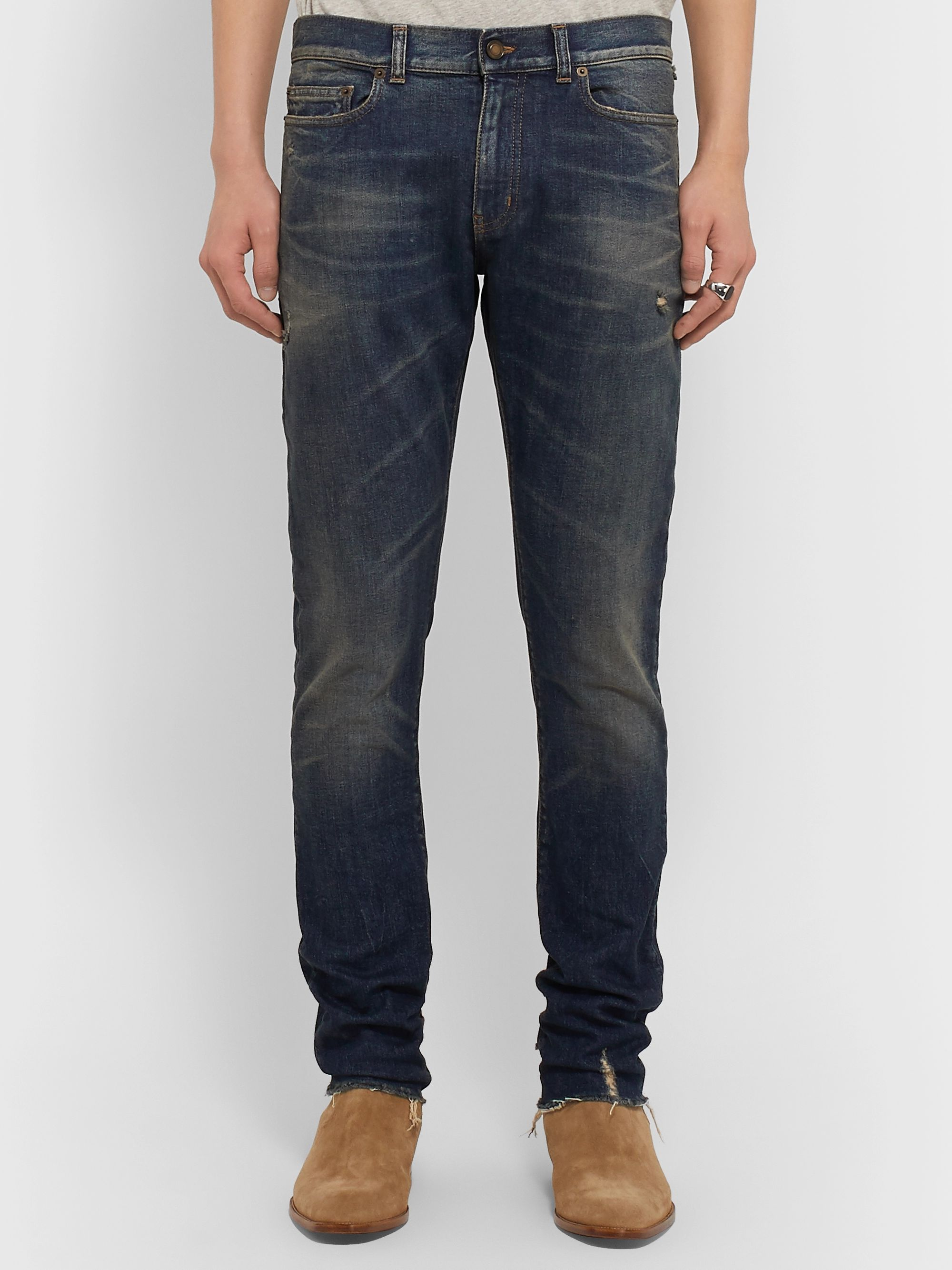 SAINT LAURENT Skinny-Fit Denim Jeans