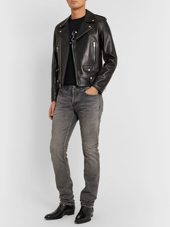 SAINT LAURENT Slim-Fit Denim Jeans