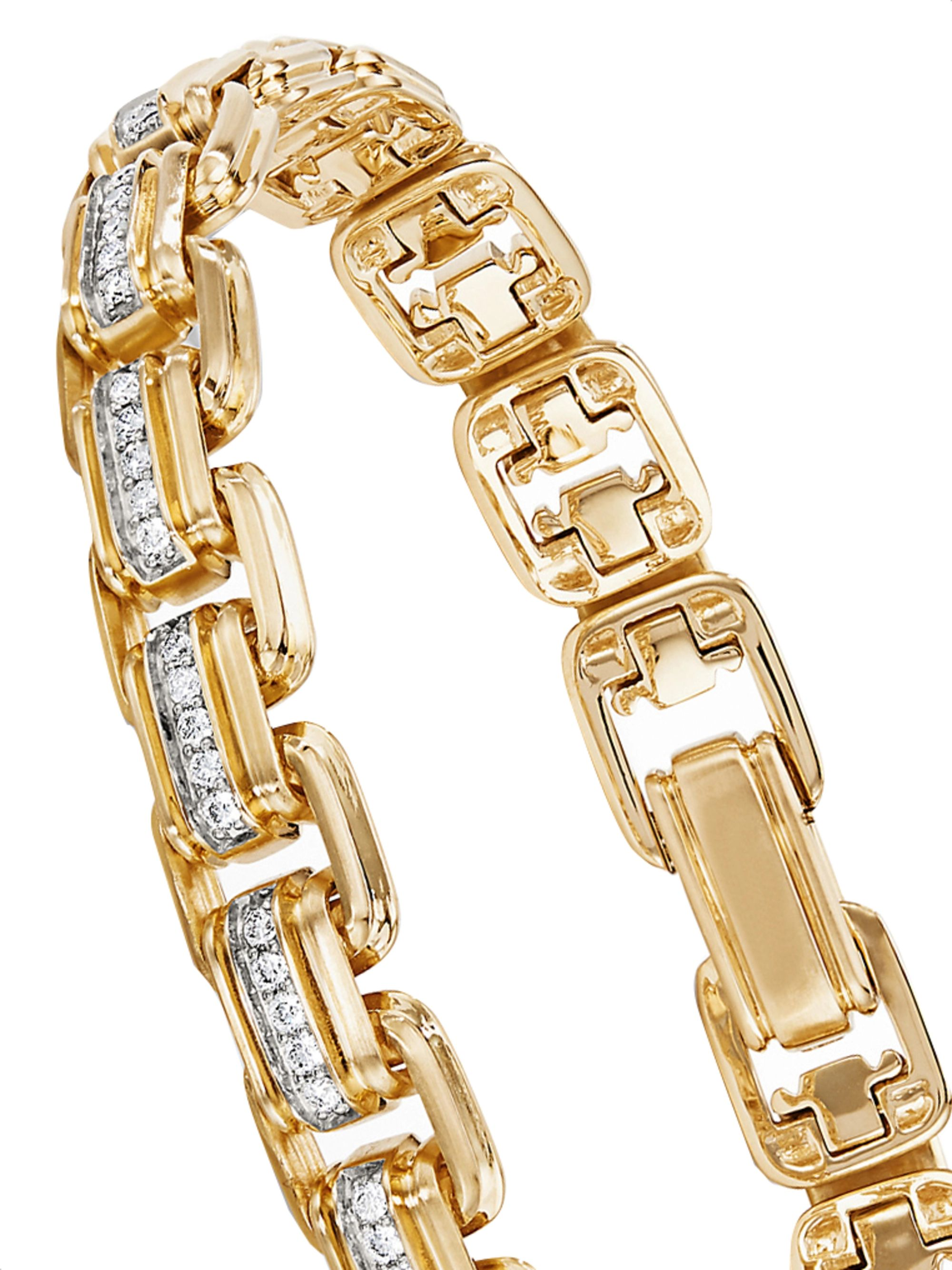 DAVID YURMAN 18-Karat Gold Diamond Bracelet