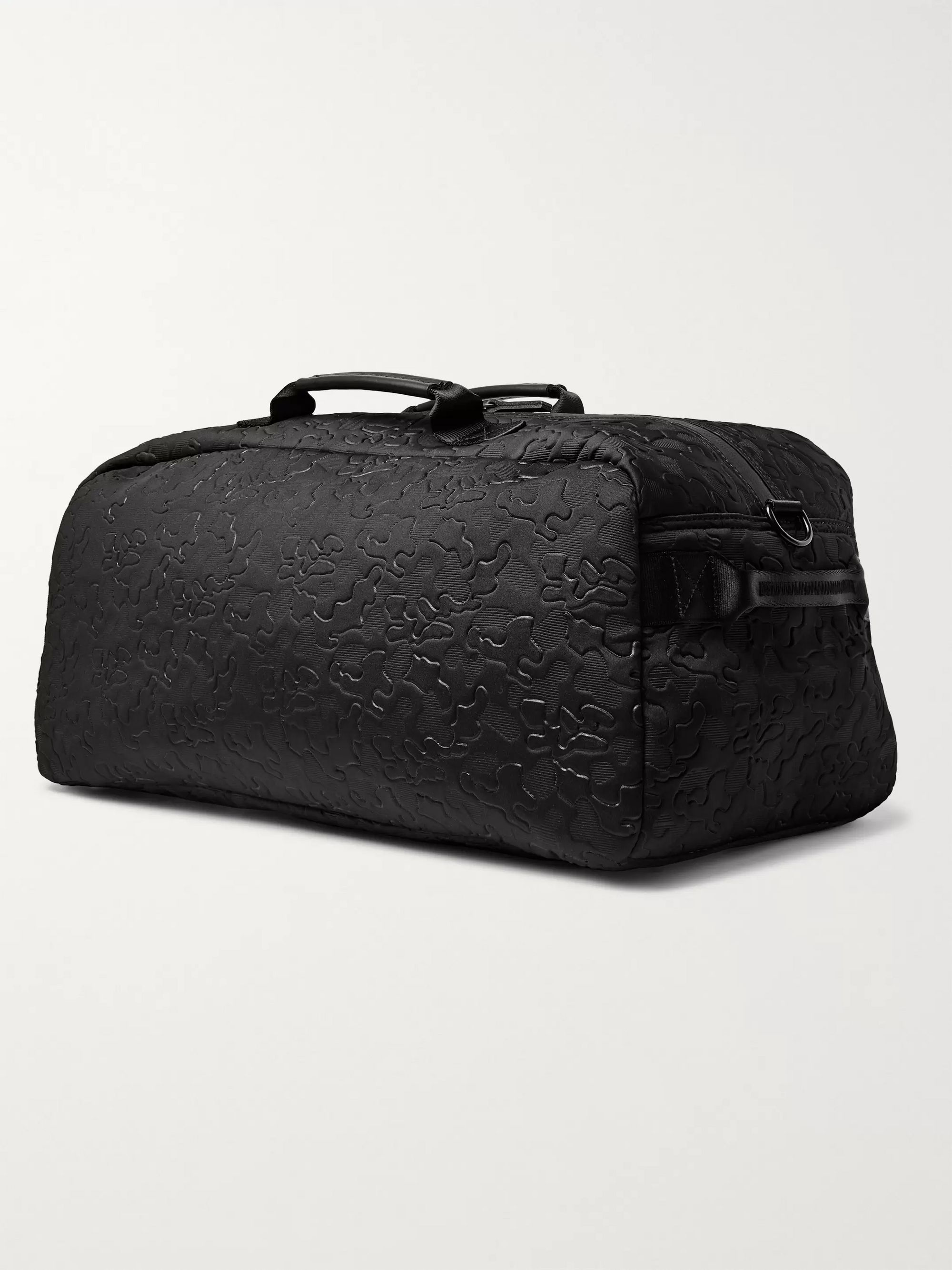 Eastpak Stand + Etched Embossed Canvas and Mesh Duffle Bag