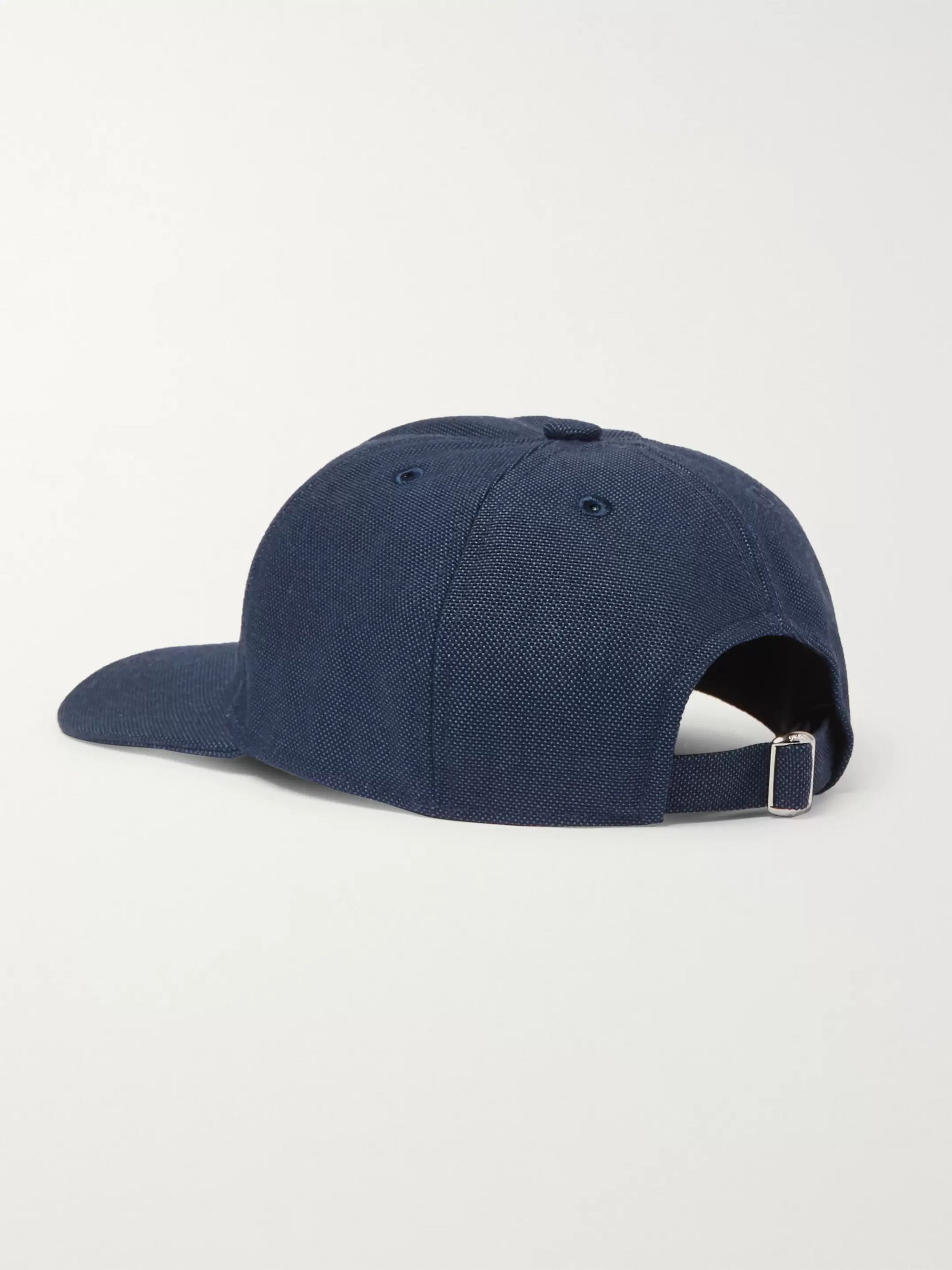 Loewe Eye/LOEWE/Nature Logo-Embroidered Canvas Baseball Cap