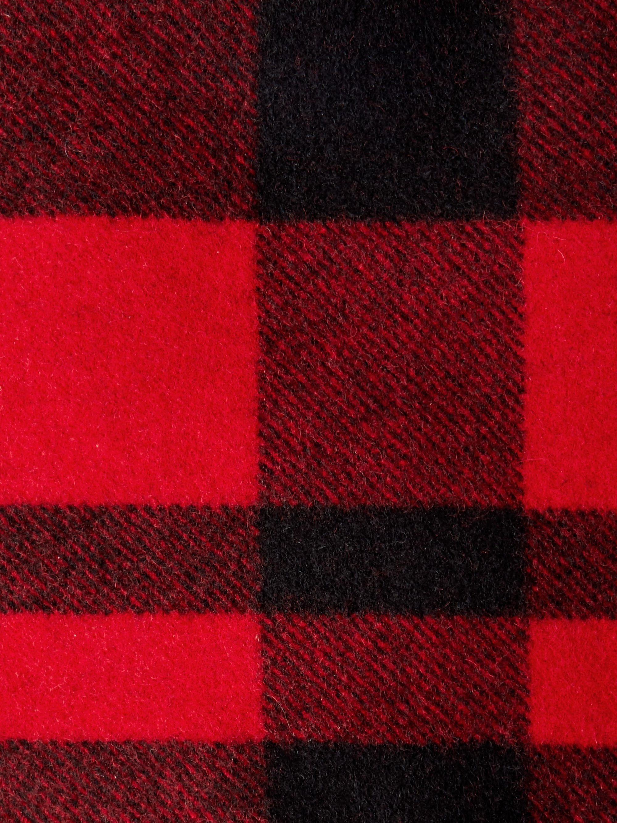 Filson Checked Virgin Mackinaw Wool Blanket