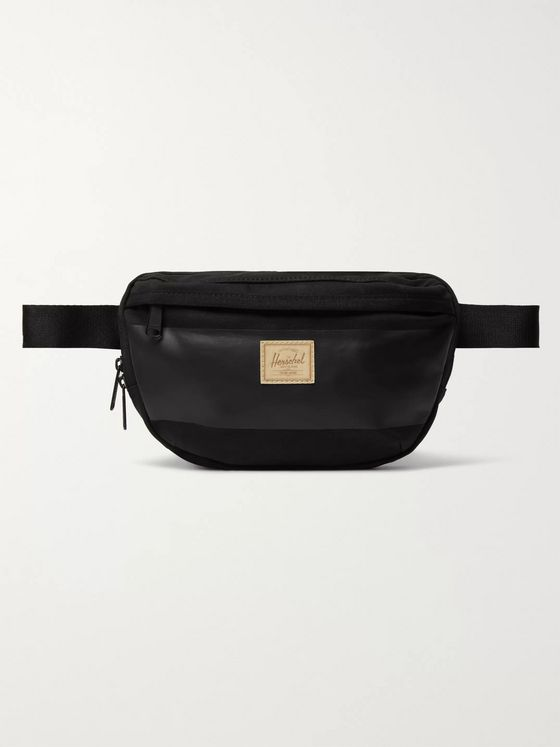 Herschel Supply Co Nineteen Waxed-Canvas Belt Bag