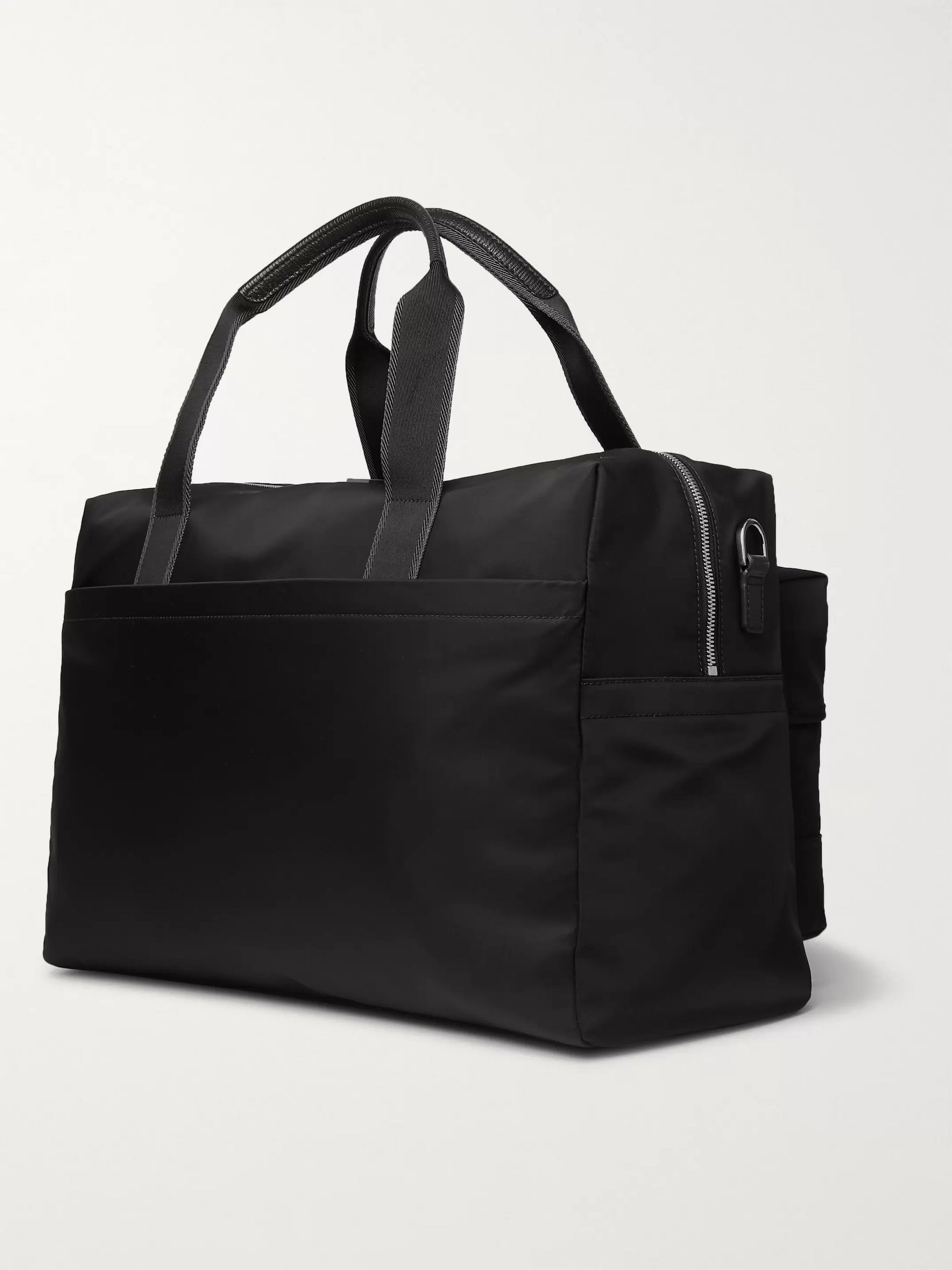 Hugo Boss Meridian Leather-Trimmed Shell Holdall