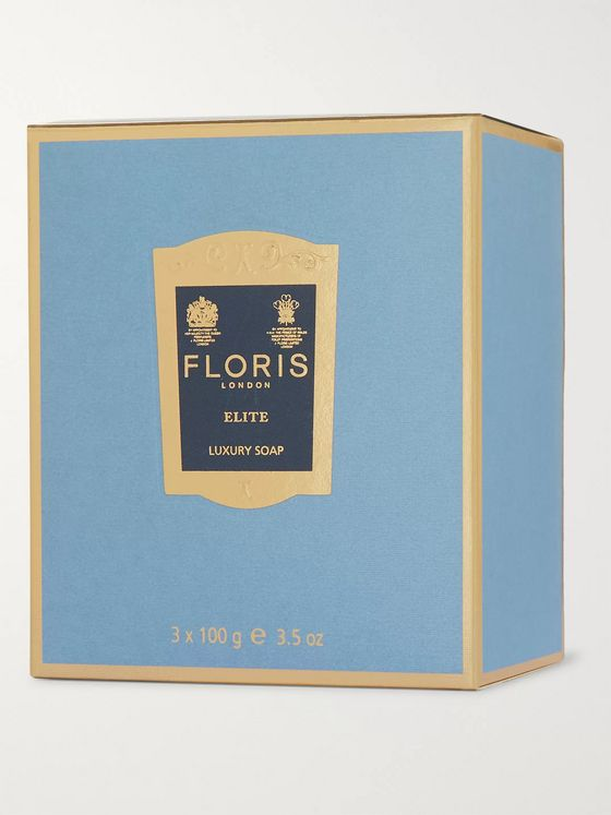 Floris London Elite Three-Pack Scented Soaps