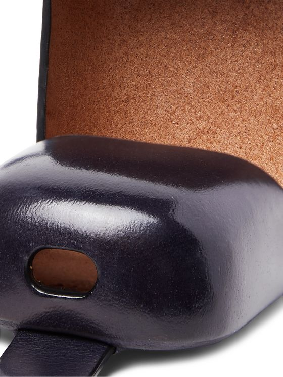 Il Bussetto Polished-Leather Earbuds Case