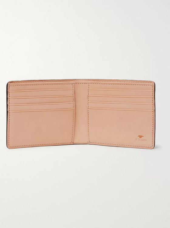 Il Bussetto Polished-Leather Billfold Wallet