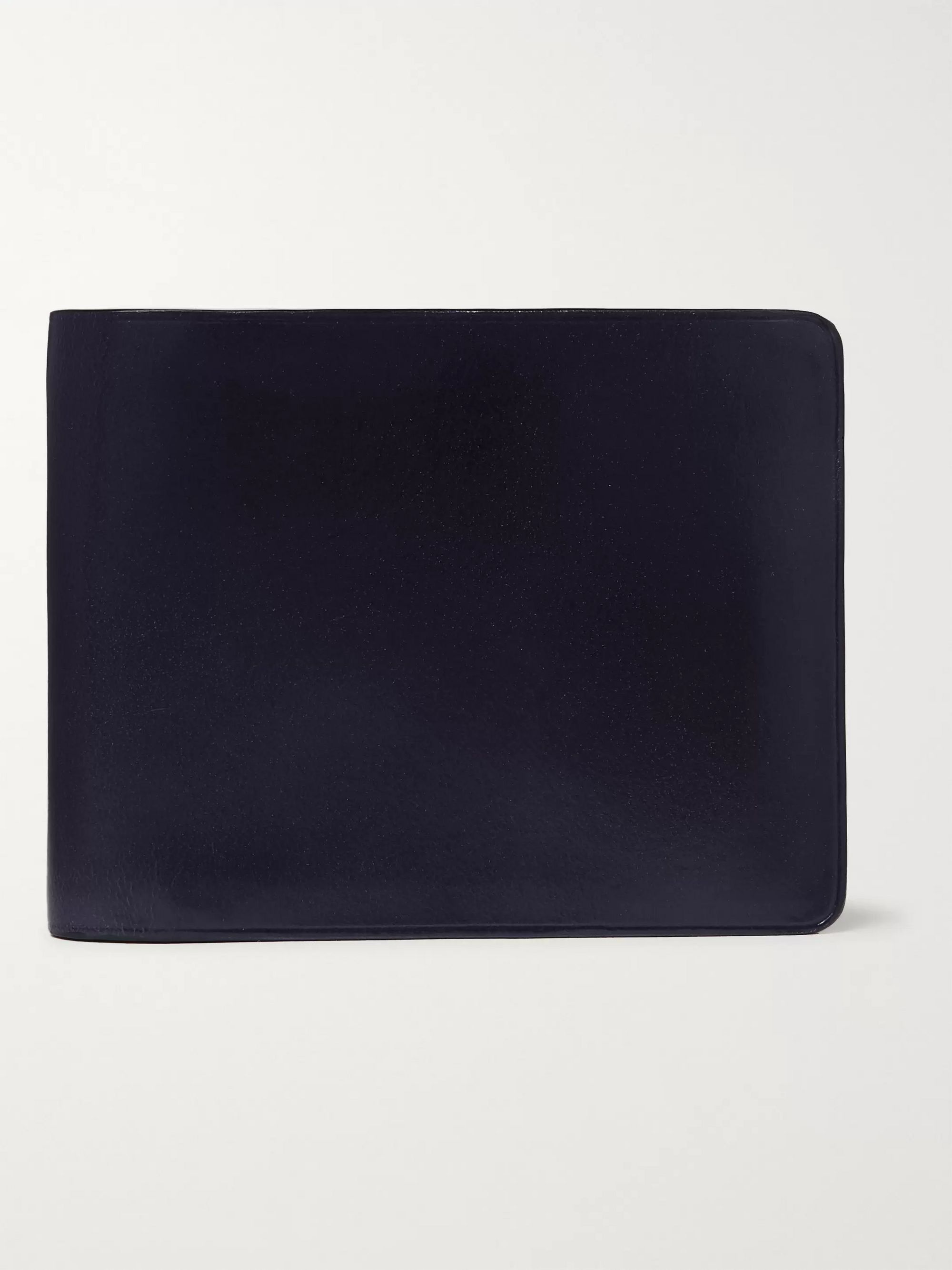 Polished Leather Billfold Wallet by Il Bussetto