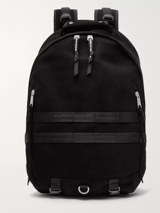 Indispensable DayPack Faux Suede Backpack