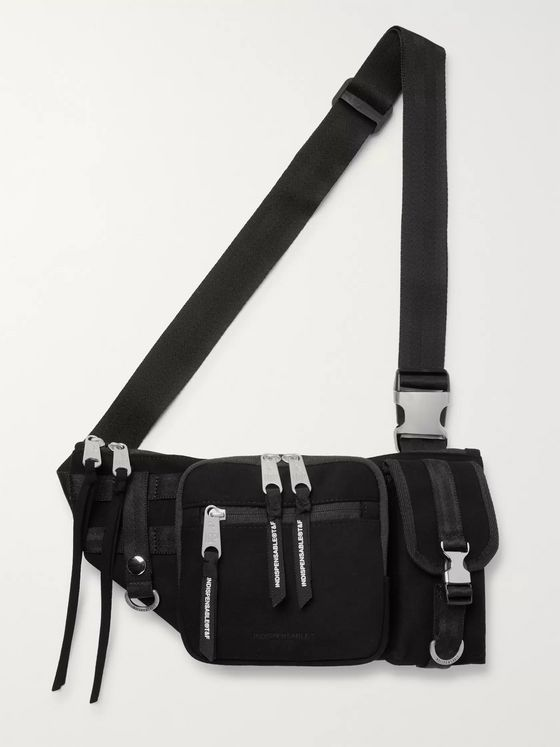 Indispensable Armour Faux Suede Belt Bag