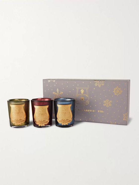 Cire Trudon Holiday Scented Candle Set, 3 x 100g