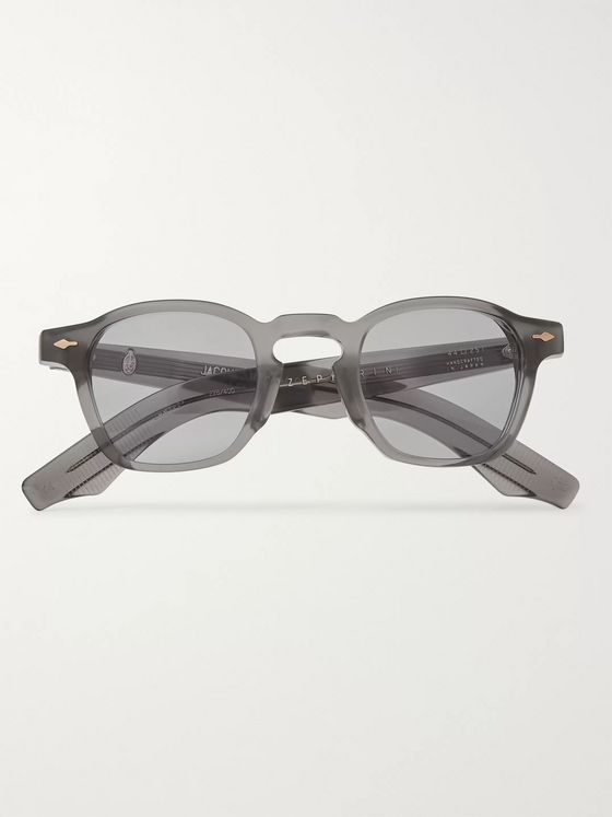 Jacques Marie Mage Zephirin D-Frame Acetate Sunglasses